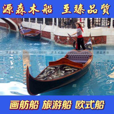 贡多拉船澳门威尼斯人度假村同款豪华贡多拉船观光船摄影道具船