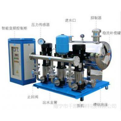 广西南宁变频恒压供水设备,二次加压供水设备在生活中的应用