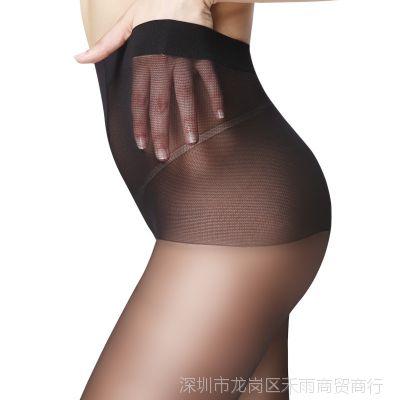肉色丝袜夏连裤袜防勾丝春秋季超薄款性感黑丝连体袜子女浪沙大码