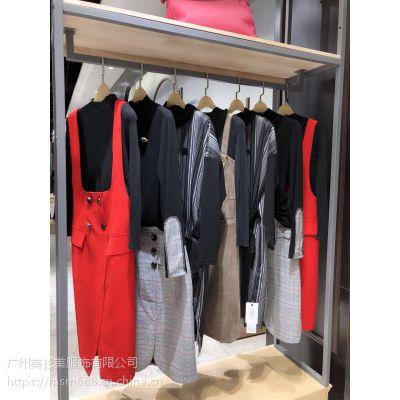 石井国际附近供应【雅卓尔】两件套连衣裙折扣女装尾货货源三标齐全