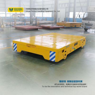 蓄电池供电轨道车电动轨道车 可转弯轨道平车轨道牵引车搬运车