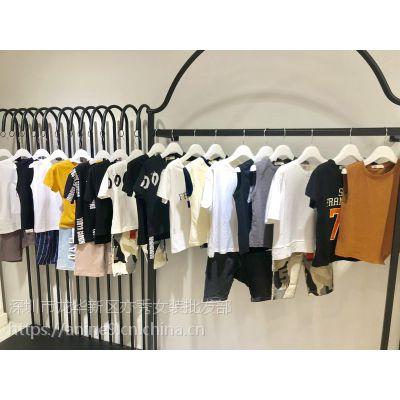 潮流时尚童装【新元素】夏装热销出货,品牌童装货源批发,抖音直播货源,童装批发市场