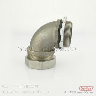 不锈钢金属软管接头 电缆浪管防水接头 IP68