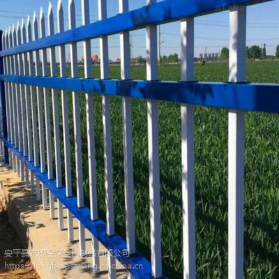 锌钢护栏价格 小区别墅铁艺护栏 厂房围墙栏杆