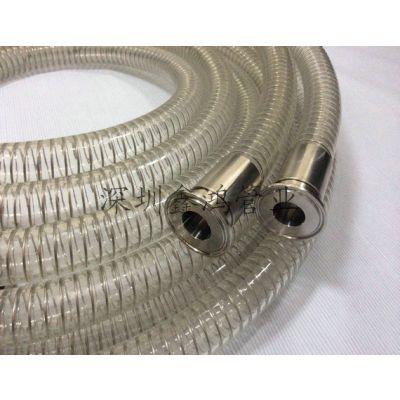 DN32食品级塑料管 无塑化剂认证 食品PU塑料软管厂商鑫鸿管业专业生产