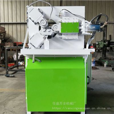 新型液压滚丝机 液压三轴滚槽机 声测管起筋机 万全制造 厚壁管压槽机 铜管铝管起鼓机 滚筋机 压筋机