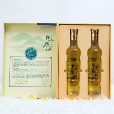 井冈山茶籽油1L高档礼盒装 纯野山茶油 农家茶树油纯茶油 食用油