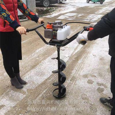 富兴果树施肥钻孔机 后悬挂式挖坑机 多功能植树打坑机参数