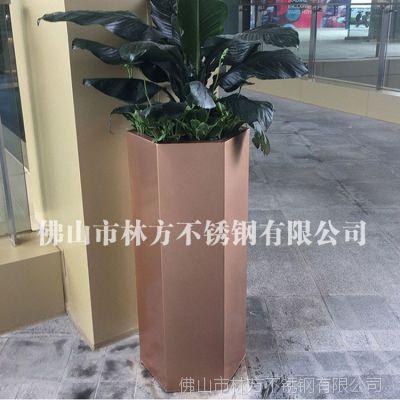 上海机场不锈钢花盆订做 高端园艺花盆 不锈钢花盆厂家