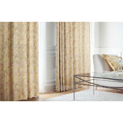 供应日本进口丽彩窗帘印花涤纶高遮光窗纱FD-52038