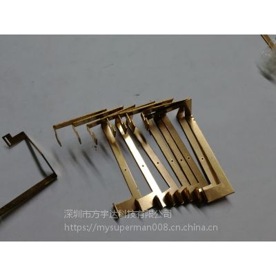 深圳厂家直销五金冲压弹片,电池片,插座接触片,免费拿样量大免费开模~铜,铁,不锈钢。~接触性能好