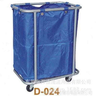 批发超宝D-024中型圆管布草车被单收集车客房车酒店服务车回收车