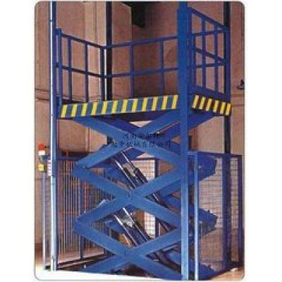 导轨升降简易货梯 SJD电动液压升降机 固定升降平台