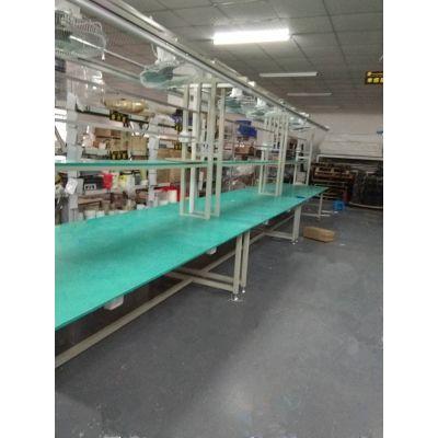 供应皓诚车间工作台 长条工作台 平面生产拉流水拉