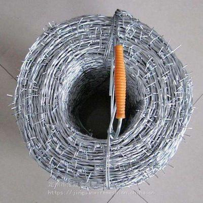 镀锌刺绳 包塑刺绳 防盗刺铁丝网