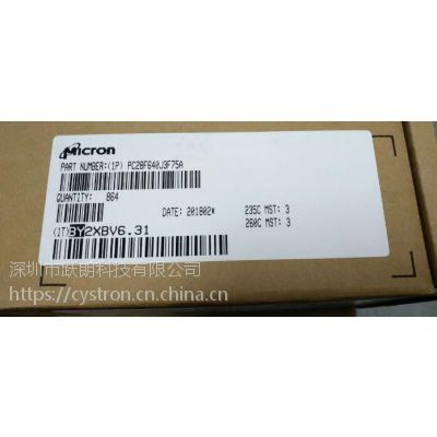cystron PC28F640J3F75A美光IC香港热卖