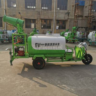 工地用小型电动洒水车 降尘喷雾多用途雾炮洒水车