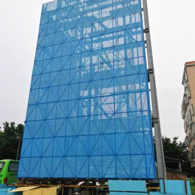 供应恺嵘建筑爬架圆孔网 建筑爬架圆孔网多少钱一平米
