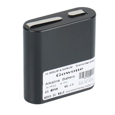 购旺 Gowone 耐用型 无汞环保碱性电池 出口简装 3LR12 仪表矿灯电池 4.5V 2节