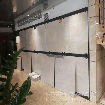 展览器材展示架 贵州地砖展示架 冲孔板展示架生产厂家【至尚】