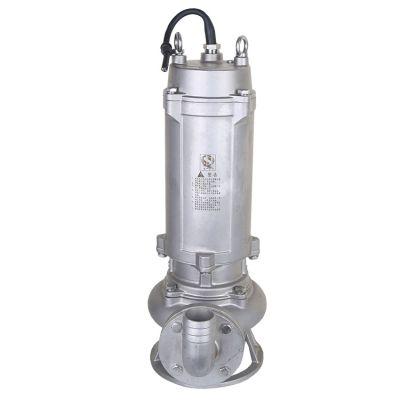 不锈钢排污立式泵 50WQP15-40-5.5 不锈钢污水泵 不锈钢排污水泵