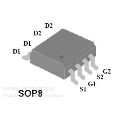 4842 mos管sop-8场效应管 30v 28a晶体管