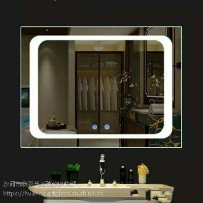 出口蒙古国高品质酒店高端带灯LED镜子 带触摸开关智能镜子
