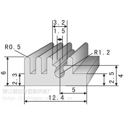 HT01型材散热器