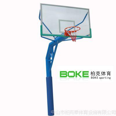佛山埋地式圆管篮球架 三水篮球架系列 单臂移动式篮球架送货安装