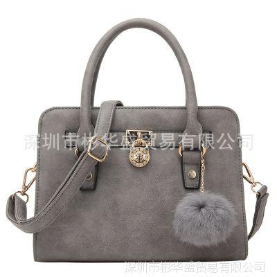外贸新款正品韩版潮时尚斜挎包女包手提包复古单肩包一件代发