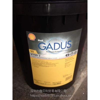Shell Gadus S5 V100 2,佳度S5 V460 KP 1.5合成风力发电机润滑脂