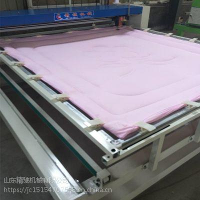 小型单针绗缝机生产厂家 做花型被的绗缝机价格