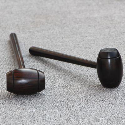 按摩捶敲打锤子胆足疗敲背身木橡胶槌棒