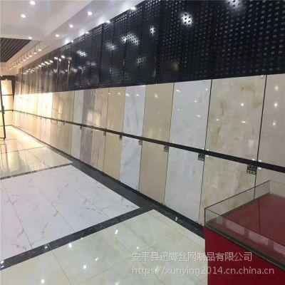 展架展柜厂家@南充地砖网孔板定制@咸宁600瓷砖货架批发价