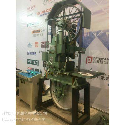 东巨大量供应MJ319带锯机 全自动木工跑车行车 木材切割设备