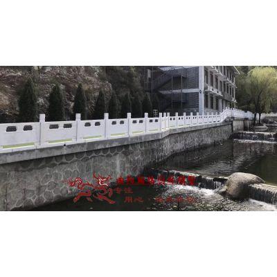 曲阳石雕翰铭大理石栏板户外河道围栏石桥护栏园林浮雕栏杆栏板石雕中式升旗台
