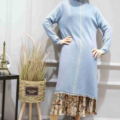 卡嘉妮羊毛连衣裙2019正品品牌折扣女装尾货库存批发