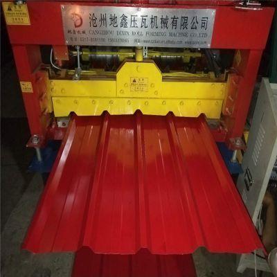彩钢瓦设备厂出售地鑫新型快速压瓦机 全自动单板机 彩钢房设备