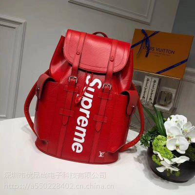 LV Supreme Louis Vuitton x SUP 联名 双肩包 背包 书包