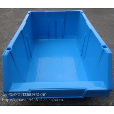 厂家雄豪供应加厚组合式零件盒收纳五金货架工具配件盒扬州苏州常州组立式A1/A2/A3斜口零件盒