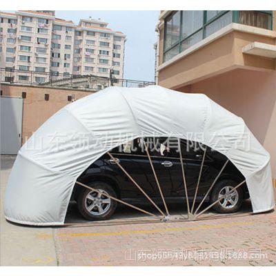 有车位有车库液压折叠移动车棚遮阳防风防雪停车库停车棚停车帐篷