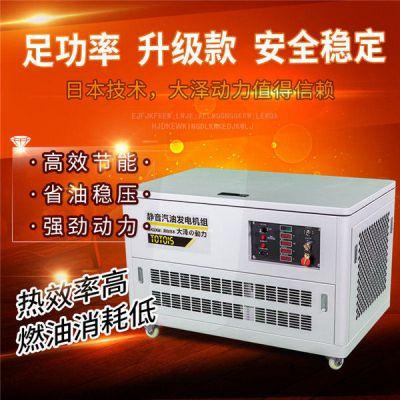 25kw汽油发电机冷库应急用