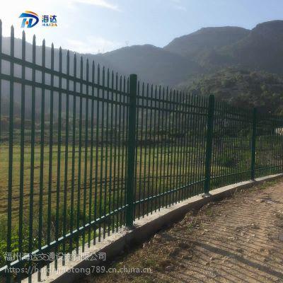 住宅小区围墙栅栏 工业园围墙隔离护栏可提供安装