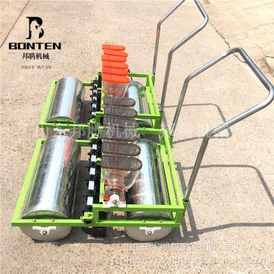 汽油蔬菜播种机 小白菜精密播种机 四轮带六行菜籽播种机