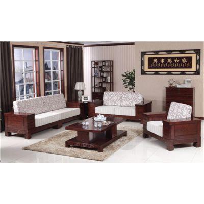 广东木言木语新中式客厅沙发 富贵无边系列经典设计之作