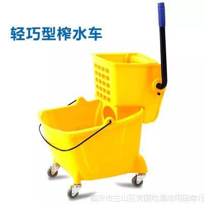 白云加厚家用拖把挤水桶榨水车头挤水桶洗拖把机墩布压水车配件