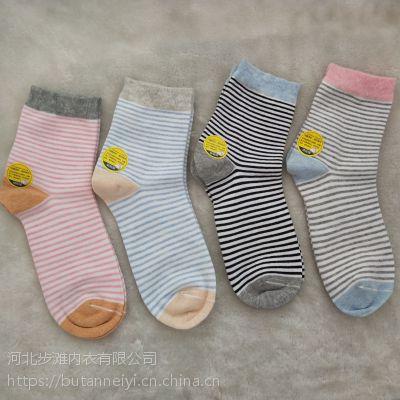 厂家直销 现货 女士抗菌袜 纯棉抗菌袜子 秋冬高筒袜子 加工订做