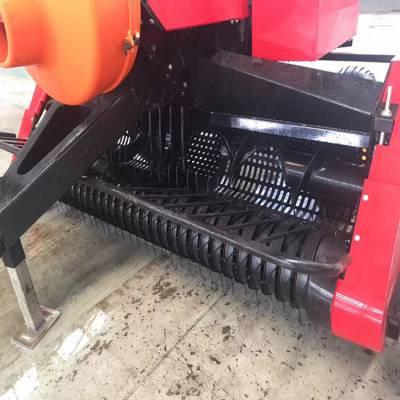 吉林2200型方捆机功能参数 苞米杆捡拾方包打捆机什么价格