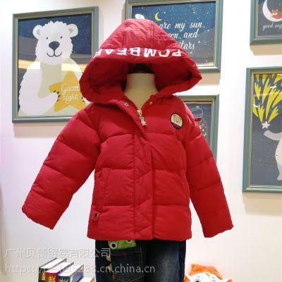 波姆熊儿童棉衣品牌童装库存尾货厂家一手货源清仓