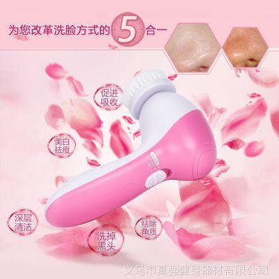 厂家现货批发 5合一护理按摩仪 洗脸仪器 脸部 面部 美容仪器